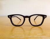American Optical eyeglass frames, New Old Stock, Black/Dark Grey Frames, for prescription or regular sunglasses