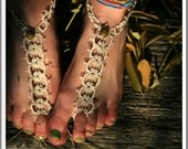 Deluxe Tatted Foot Thong PDF Pattern by RustiKate