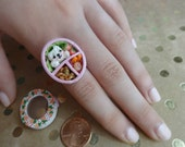 SALE Bento Ring Polymer clay
