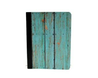 Teal Weathered Wood - Notebook / Journal / Composition Book