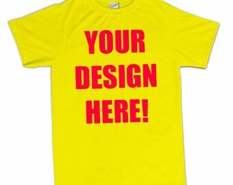 Custom Personalized T-Shirt Perfect Birthday Gift Shirt Tshirt Mom Dad Son Daughter Husband Wife Boyfriend Girlfriend Mens Womens Kids S-3XL