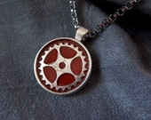 Steampunk Necklace - Gear...