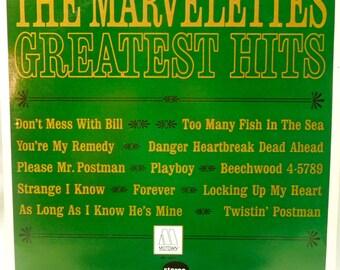 The Marvelettes Greatest Hits - Vintage Vinyl LP - 1981 Reissue