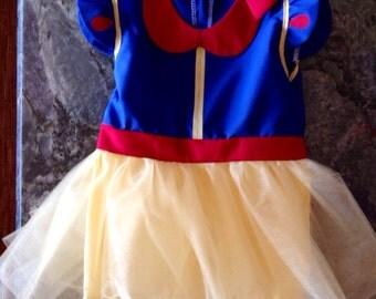 Snow White Inspired Tutu Dress/Costume~Infant/Toddler/CHILD