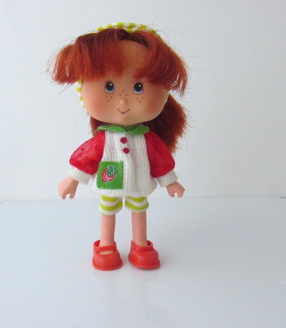 Vintage strawberry shortcake toys