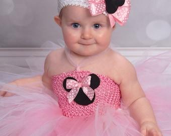 Minnie Mouse inspired tutu dress