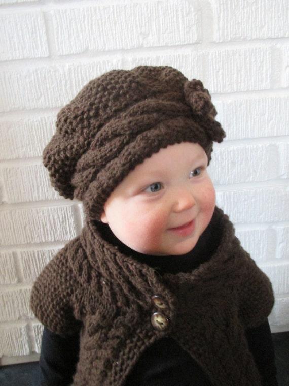 Knitting Pattern Baby Slouch Hat : KNITTING PATTERN Hat PDF knitting pattern slouch hat knit
