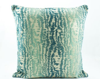 teal tiffany blue pillow cover chenille pillow kilim 16x16 throw pillow cover velvet luxury. Black Bedroom Furniture Sets. Home Design Ideas