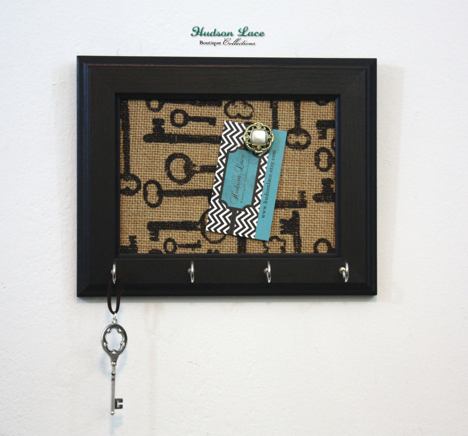 Home decor key holder housewarming gift by hudsonlace on etsy for Mural key holder