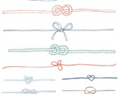 Knot Clip Art - Nautical Clip Art, Knot Vector and Photoshop Brushes