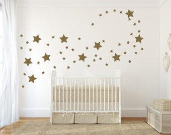 stars decal star wall decals shape disney magical star baby room