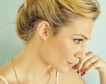 Gold Flower Hair Fork - Gold stick barrette - Bridal Hair Accessory - Antique Hair Pin - Bridesmaids Hair Jewelry - Romantic Hair Jewelry