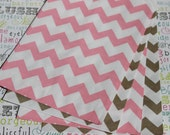 50 Blush Pink and Gold Chevron Candy Bags, Blush Pink and Gold Wedding Candy Bags, Gold and Pink Party Bag, Popcorn Bags, Pink Candy Bags