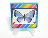 Butterfly: Post-It Note Holder, Notepad, Back To School, Teachers Gift, Party Favors