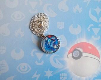SALE - Articuno Round Pokemon Pendant