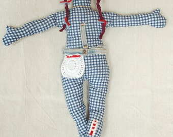 Hand Made Cloth Doll