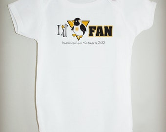 Lil' Pens Fan - Personalized Bodysuit or Tee