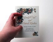 Custom Order - Bachelorette Invitations
