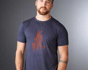 Dragon T shirt, Men's T-shirt, Dragon Shirt, Bamboo Organic Cotton Tshirt, Mens Graphic Tee, Gift for Him, Mens Tshirt, DARE MORE