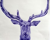 Blue Ink Stag