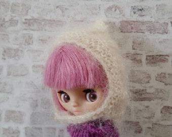 pdf knitting pattern - Petite Blythe pixie hat.