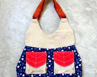 SALE - Handbag - The Petiole Shoulder Bag (Wonderland BIrds)