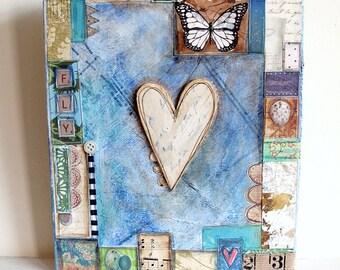 Heart - Canvas
