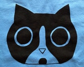 Otto Cat Face Shirt - Size Youth Large