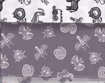 Half yard bundle - Wee Gallery Trio - Dear Stella cotton quilt fabric