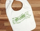 Chicago hot dog organic cotton bib Chicago hot dog diagram Chicago unisex baby gift