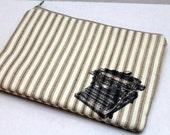 SALE Zipper eReader, Kindle, Makeup Bag