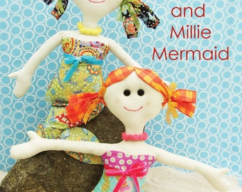 Jennifer Jangles Lucy and Millie Mermaid Sewing Pattern