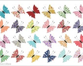 BUTTERFLY QUILT #527