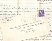 WWII Love Letter Wife To Husband Handwritten Correspondence1945 L04