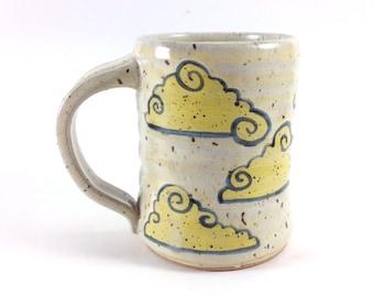 Yellow Clouds Coffee Mug