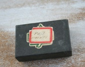 vintage box of Pen Nibs - oval point and mixed types- calligraphy and lettering