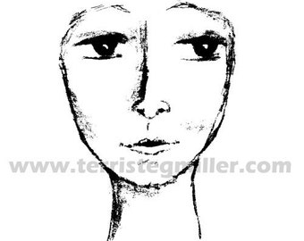 Thermofax Screen - Face Without Hair