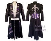 Mens big and tall magicians coat xl steampunk wedding coat