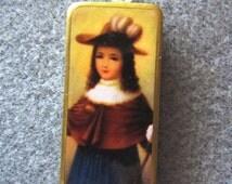 Santo Nino de Atocha Child Jesus Catholic Art Recycled Domino Pendant Necklace SN2