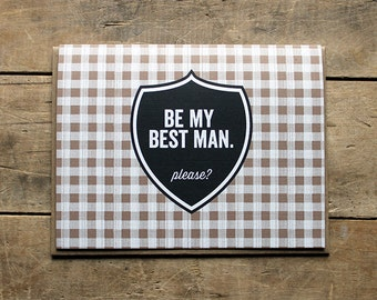 Be My Best Man.  Please?