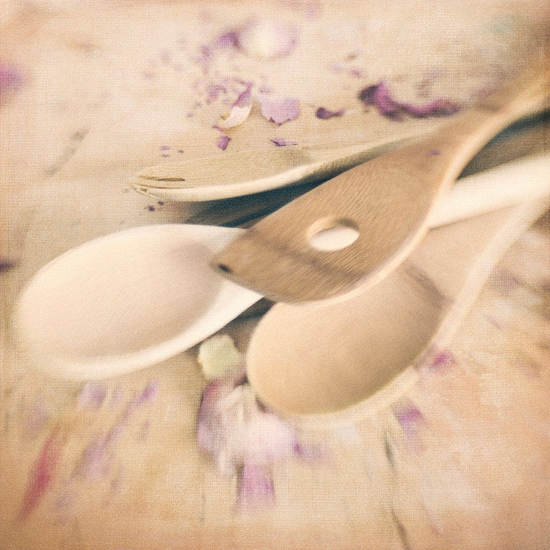 4 Wooden Spoons Trina Baker Photography
