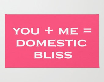 DOMESTIC BLISS RUG (3 size options)