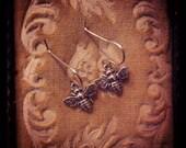 Tiny Bee Earrings