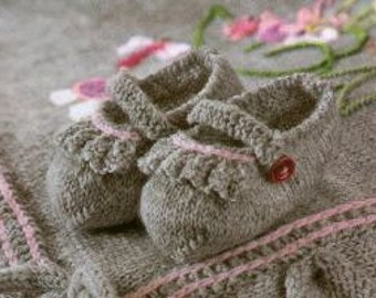Gnome Baby Shoes