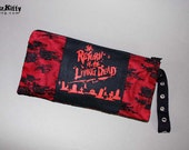 Return Of The Living Dead Horror Lace Zipper Wristlet Pouch Clutch
