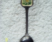 Vintage Hummel 1982 collectible spoon silverplated - picture of boy