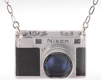 Nikon Camera Necklace - Camera Necklace - Nikon Necklace - Camera Jewelry
