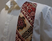 SALE Mens Shirt With Polynesian Fabric Detail CUSTOM SIZES available