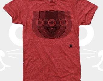 Crazy Watson the Cat Men's TShirt, Tee Shirt, Cat, Crazy Cat, Red, Mens Cat Shirt, Men Graphic Tee S,M,L,Xl,Xxl (4 Colors) T-Shirt for Men