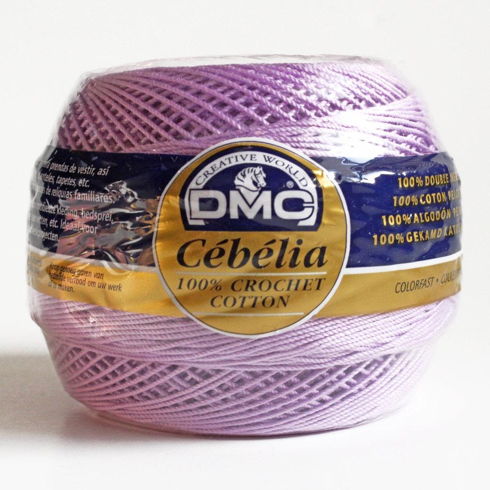 Crochet Thread Size 10 : Crochet Thread. DMC Cebelia Size 10 3-Ply by BarkingDogDesigns